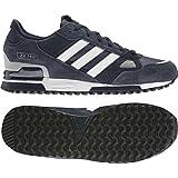 Adidas Originals Men's ZX 750 Navy Running Retro Casual Shoes Trainers