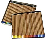 Koh-I-Noor Gioconda Soft Pastel Pencil Set, 48/Each Packed in Tin, Assorted Colors (FA8828.48)