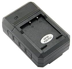 STK's Fujifilm NP-40 Battery Charger - for Pentax D-Li8, D-L18, Kodak KLIC-7005, and Fujifilm NP-40, NP-40N batteries and Pentax Optio S5i, W10, S6, WP, S4, W20, WPi, S4i, S7, T10, S5z, x, T20, SV, S5n, SVi, Kodak EasyShare C763, Fujifilm Finepix Z1, F480