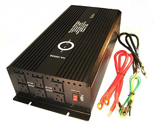 Halo Automotive Ha-I3000S Power Inverter, 3000-Watt