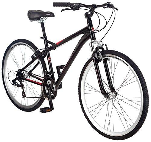 Schwinn Men S Siro 700c Hybrid Bicycle Black 18 Inch Frame