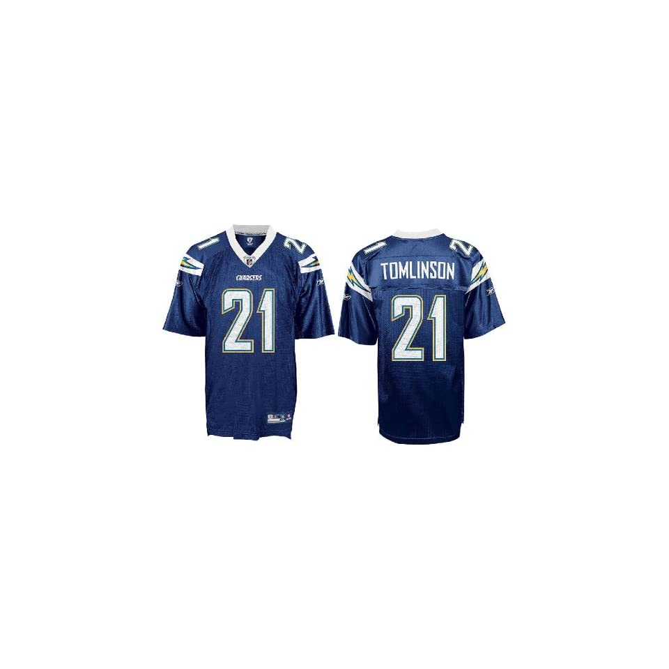LaDainian Tomlinson San Diego Chargers NEW Navy NFL Equipment Replica Football Jersey By Reebok