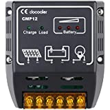 Docooler Solar Charge Controller Solar Panel Battery Regulator Safe Protection (10A)
