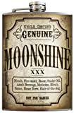 Moonshine flask - 8oz Stainless Steel by Trixie & Milo