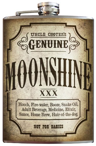 Moonshine flask - 240ml Stainless Steel by Trixie & Milo