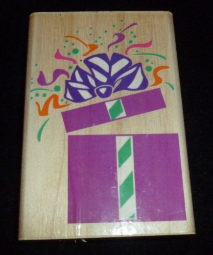 Surprise Package Rubber Stamp - 1