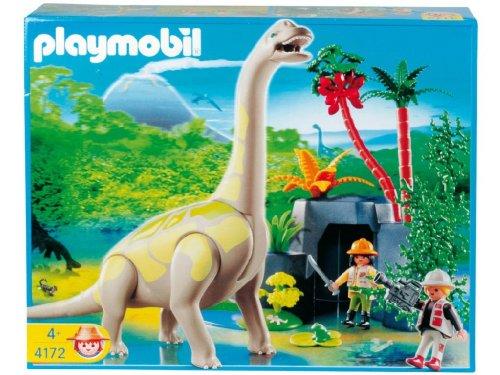 Playmobil Brachiosaurus in Rocky Territory