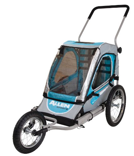 Allen Sports Premier 1-Child Jogger/Bike Trailer front-1048277
