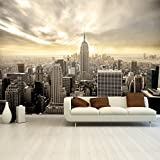 Fototapete Shining Manhattan 366x254 cm Tapete Skyline USA New York deco.deals, Kleisterbürste / Quast:Tapete ohne Kleisterbürste