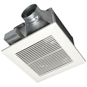 Panasonic fv 05vq3 whisperceiling 50 cfm ceiling mounted - Panasonic bathroom fans home depot ...