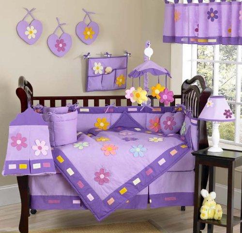 Piece Girl Crib Bedding Sets