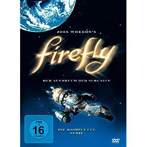 51KtKOXN6RL. SL500 AA300  [Amazon] Firefly   Der Aufbruch der Serenity   Die komplette Serie auf 4 Discs für nur 13,97€