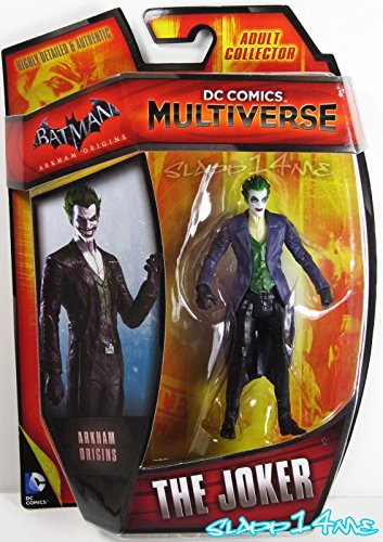 "2014 DC Comics Multiverse THE JOKER Arkham Origins Wave 4 Series 3.75"" Figure"