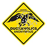 Duck Commander ~ Duckaholics Anonymous ~ Duck Hunting Metal Sign Dynasty