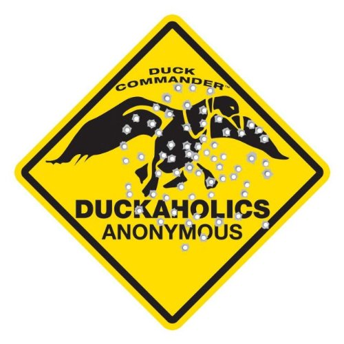 Learn More About Duck Commander Duckaholics Anonymous Duck Hunting Metal Sign
