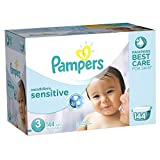 Pampers Swaddlers Sensitive Diapers Size 3 Economy Pack Plus 144 Count