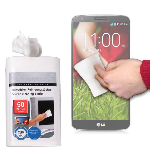 Duragadget Anti-Static Lcd Touchscreen Cleaning Cloths For Lg G3 / D850