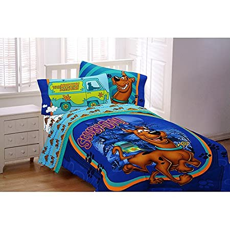 Warner Brothers Scooby Doo Twin Comforter & Sheet Set (4 Piece Bedding) at Sears.com