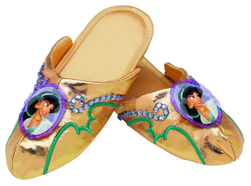 Jasmine Deluxe Slippers,Fits Girls (One Size)