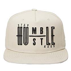 Urban Monkey Premium Beige Adjustable Baseball Snapback Free Size Unisex Hip Hop Cap