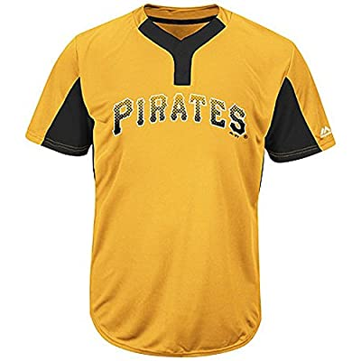 Pittsburgh Pirates MLB 2-Button Colorblocked Jersey