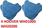 4 pack hoover steam mop pads compatible wh20200 steam mop  wh01000