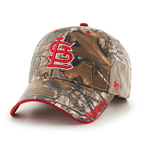 MLB St. Louis Cardinals '47 Frost MVP Camo Adjustable Hat,