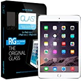 iPad Mini 3 Screen Protector, Spigen® iPad Mini 3 Screen Protector Glass [GLAS.t] Tempered Glass Screen Protector Clear for iPad Mini 3 / iPad Mini 2 (SGP09660)