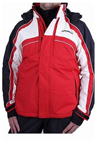 Atomic giacca da sci da uomo giacca invernale rosso S - XL #7 Rot / Weiß / Schwarz