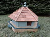 Floating duck nesting box with cedar shingle roof, waterfowl coop, box, duck nesting houses from Buttercup Farm