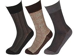 Abracadabra Men's Long Socks (Pack Of 3) (DNCS15017_Multi)