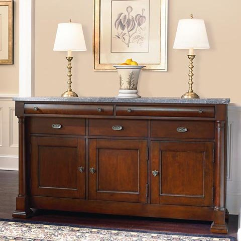 Buy Low Price Bassett Furniture Louis Philippe Buffet W