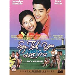 Say That You Love Me- Philippines Filipino Tagalog DVD Movie