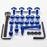 Aluminium Fairing Kit Honda CBR125R Blue