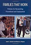 Families That Work: Policies for Reconciling Parenthood and Employment