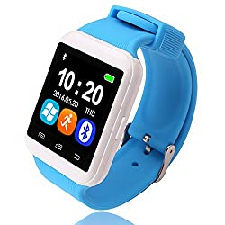 Bingo U8 S BLUE&WHITE Combination Smart Watch Support Bluetooth With HI-FI MUSIC QUALITY, Remote Click Photo Function