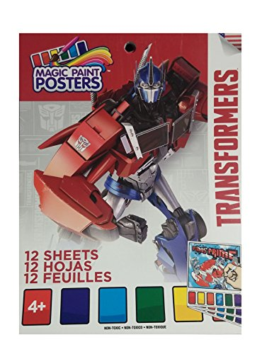 Magic Paint Posters - Transformers - 12 Sheets