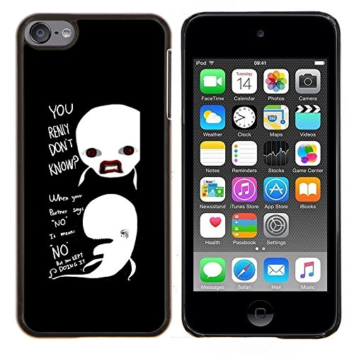GREAT PHONE CASE GIFT // Mobile Phone Case Hard Case PC Derecative Cover Shell for Apple iPod Touch 6 6th Touch6 /FUNNY - REALLY DON'T KNOW WHALES/ (Really Cool Ipod Touch Cases compare prices)