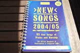 New Songs 2004/05 Music Book
