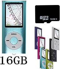 Btopllc Bleu NOUVEAU Lecteur MP4/MP3-avec 16GB 16Go de carte Micro SD-1,81 Pouces TFT ecran lecteur audio, Audio Player, Media Player, Voice Recorder