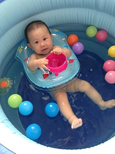 Mytoy by summer floating swim ring pvc inflatable baby for Baby garden pool