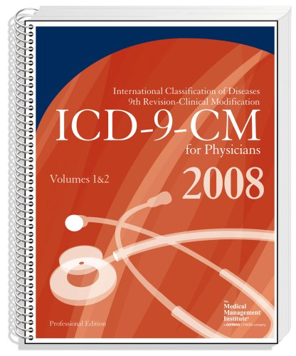 ICD 9 CM 2008 Volumes 1 & 2  Professional for Physicians