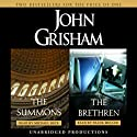 The Summons & The Brethren (       UNABRIDGED) by John Grisham Narrated by Frank Muller, Michael Beck