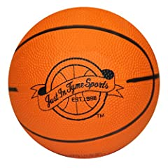 Buy Mini Basketball - 5 Mini Pro Rubber Basketball by JustInTymeSports