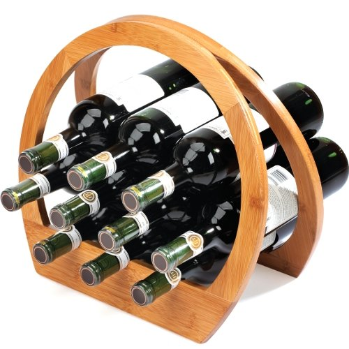 Umbra Barrel Bamboo Wine Rack (Umbra Wine Rack compare prices)