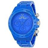 Toy Watch Monochrome Chronograph Light Blue Dial Unisex Watch MO09LB