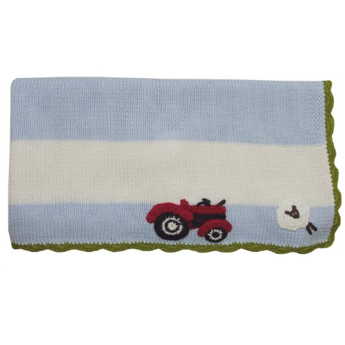Hand Knitted Baby Blanket back-335970