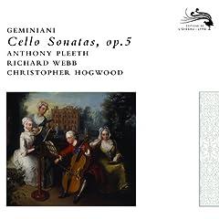Geminiani: Sonata No.4 in B Flat Major for cello and continuo - Andante