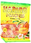 Haribo Gummi Candy, Peaches, 5-Ounce…