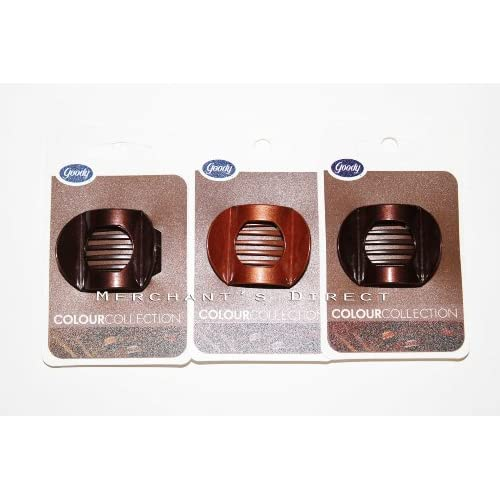 Amazon.com : Goody Mini Updo Claw Clip, Colour Collection (3 Pack